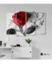 Πίνακας Καμβάς Τετράπτυχος Τριαντάφυλλο