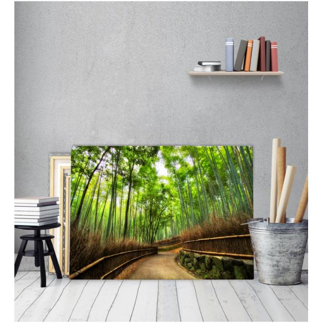 Πίνακας Καμβάς Δρόμος Δέντρα