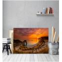 Πίνακας Καμβάς Ηλιος και Θάλασσα