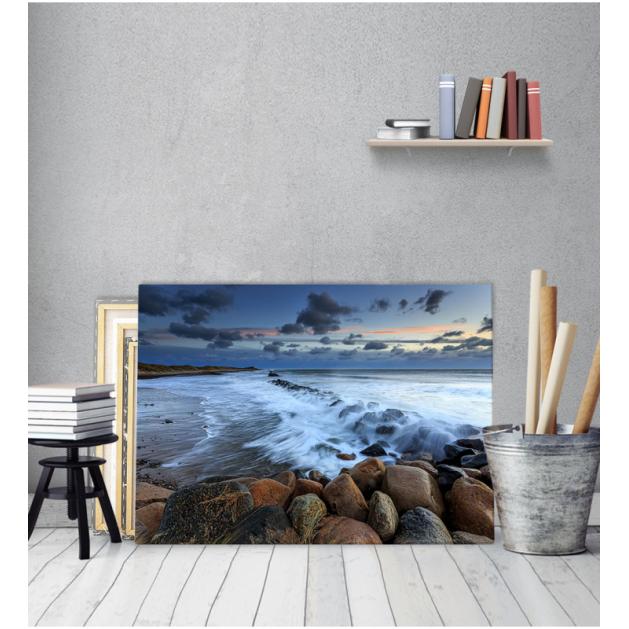 Πίνακας Καμβάς Τοπίο με Θάλασσα