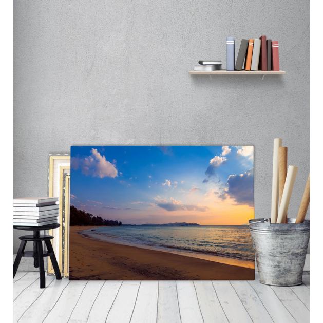 Πίνακας Καμβάς Ηλιοβασίλεμα θάλασσα