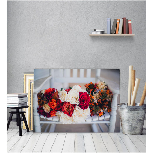 Πίνακας Καμβάς Λουλούδια
