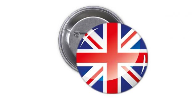 Κονκάρδα Αγγλική Σημαία - England Flag