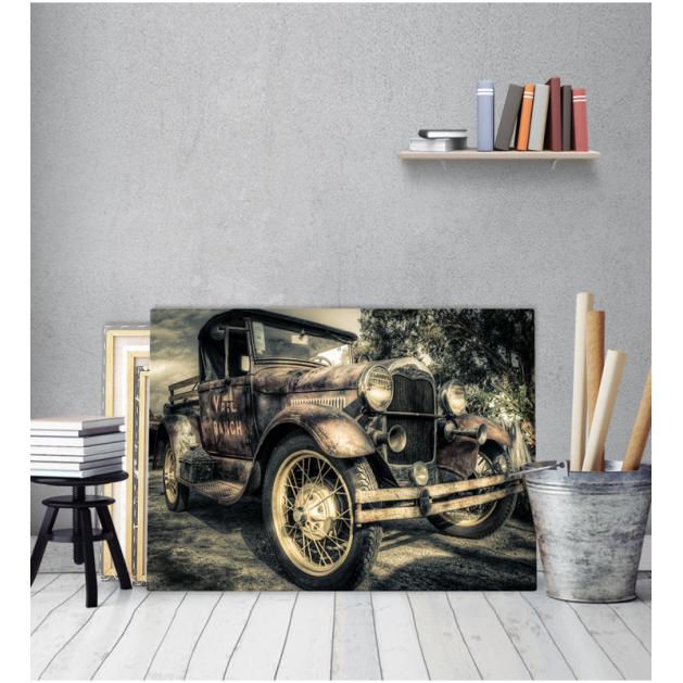 Πίνακας Καμβάς Vintage Αυτοκίνητο