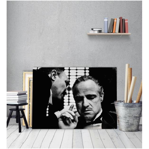 Πίνακας Καμβάς The Godfather - Ο Νονός
