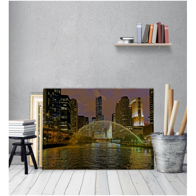 Πίνακας Καμβάς Chicago