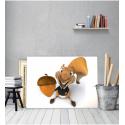 Πίνακας Καμβάς Σκίουρος Chip'n'Dale