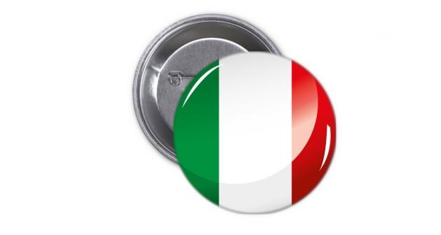 Κονκάρδα Ιταλική Σημαία - Italy Flag