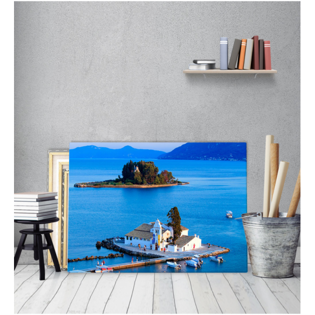 Πίνακας Καμβάς Κέρκυρα Ελλάδα