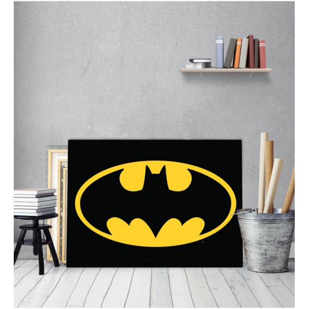 Πίνακας Καμβάς Batman logo