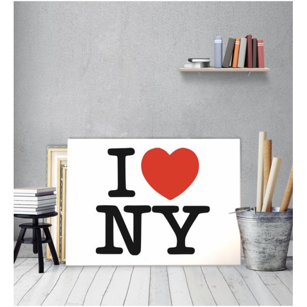 Πίνακας Καμβάς i love new york