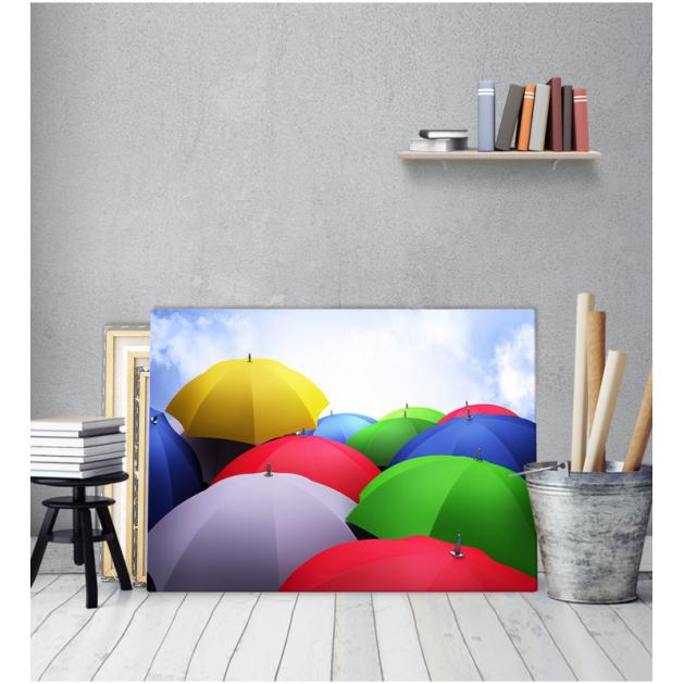 Πίνακας καμβάς Πολύχρωμες Ομπρέλες