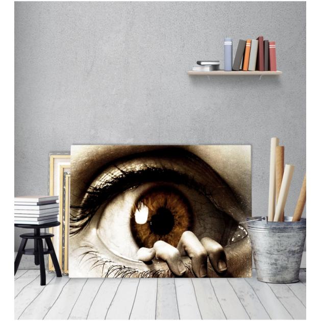 Πίνακας Καμβάς eyes hand