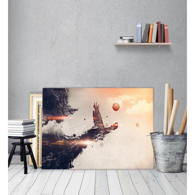 Πίνακας Καμβάς Ιπτάμενος Αετός