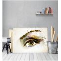 Πίνακας Καμβάς Μάτι Ζωγραφιστό