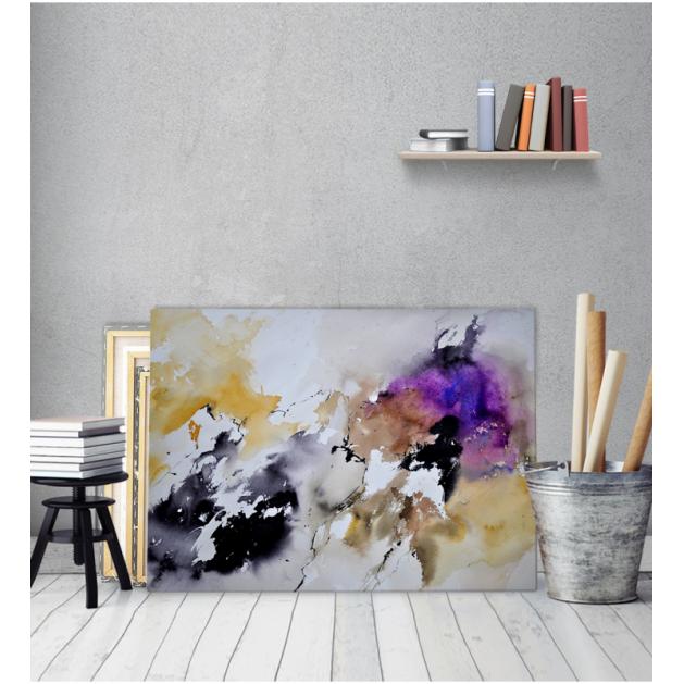 Πίνακας Καμβάς χρώματα Νερομπογιές
