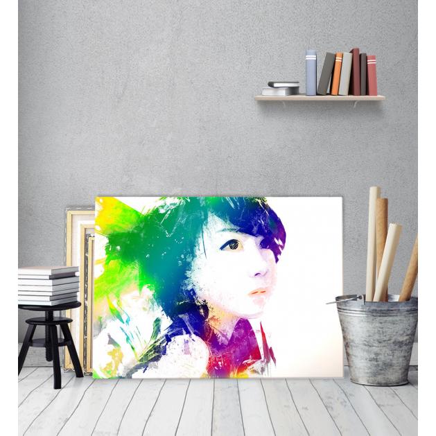 Πίνακας Καμβάς Κορίτσι από την Ανατολή