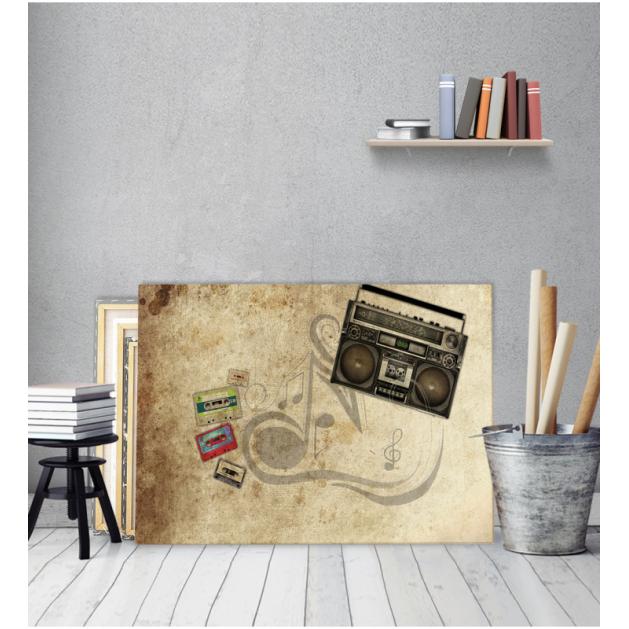 Πίνακας Καμβάς Κασετόφωνο vintage