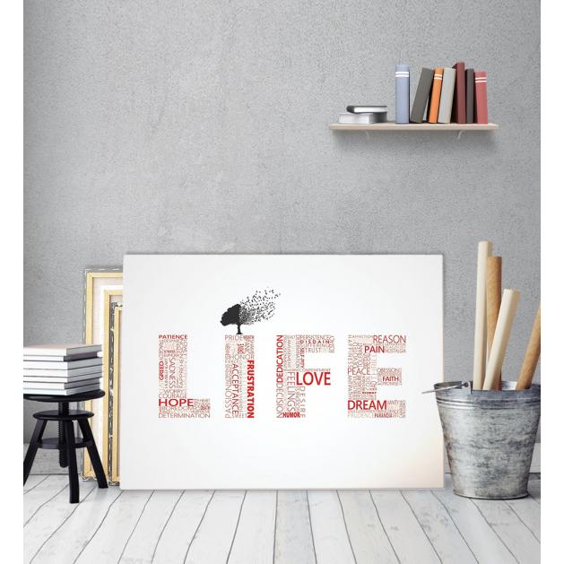 Πίνακας Καμβάς Life
