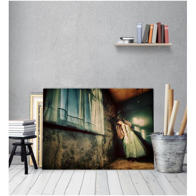 Πίνακας Καμβάς Μπαλαρίνα στο Ξέφωτο