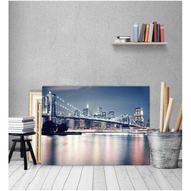 Πίνακας Καμβάς Brooklyn Bridge by Night