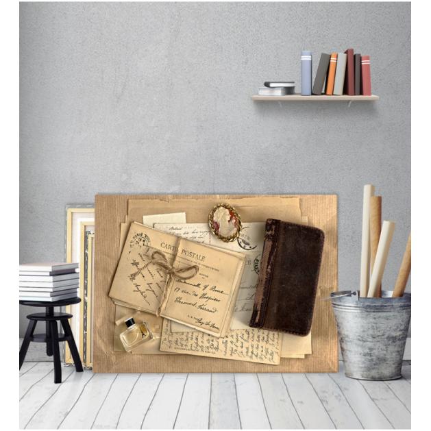 Πίνακας Καμβάς με εκτύπωση Card Postal