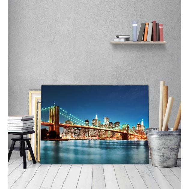 Πίνακας Καμβάς γέφυρα Brooklyn Bridge