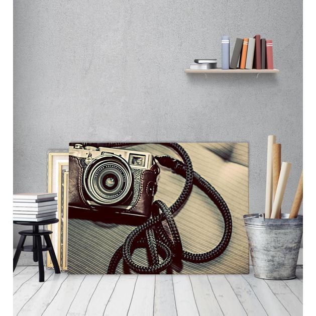 Πίνακας Καμβάς Φωτογραφική Μηχανή vintage