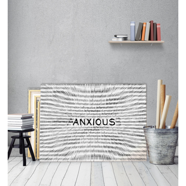 Πίνακας Καμβάς Αγωνία - Anxious