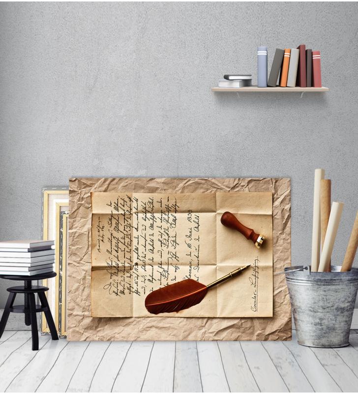 Πίνακας Καμβάς Ερωτική Επιστολή