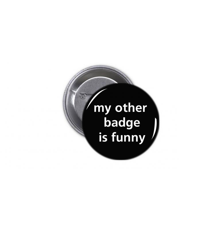 Κονκάρδα My other badge is funny