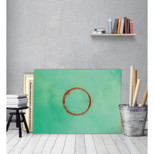 Πίνακας Καμβάς Κόκκινος Κύκλος