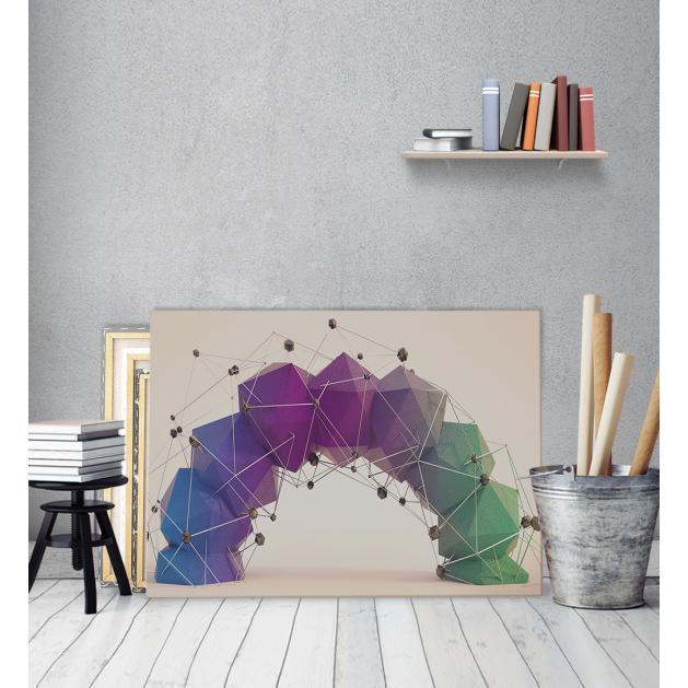 Πίνακας Καμβάς με εκτύπωση 3D D.N.A.