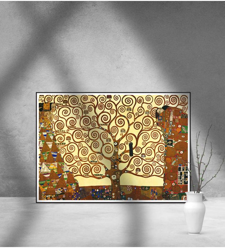 Εκτύπωση σε Αφίσα Χαρτί KLIMT - TREE OF LIFE - Δέντρο της ζωής