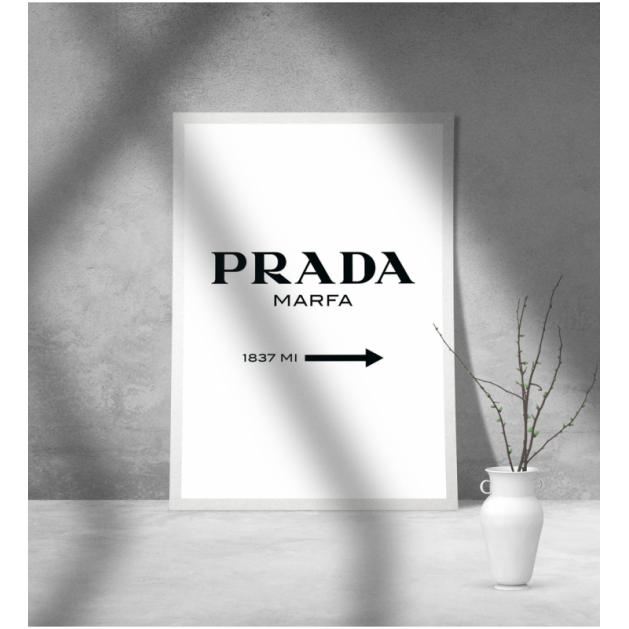 Εκτύπωση σε Αφίσα φωτογραφικό Χαρτί Prada Marfa