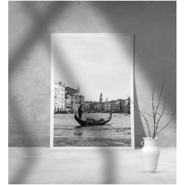 Εκτύπωση σε Αφίσα φωτογραφικό Χαρτί Γόνδολα Βενετία