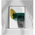 Εκτύπωση σε Αφίσα φωτογραφικό Χαρτί Μοντέρνο σχέδιο ζωγραφικής σε 4 αποχρώσεις