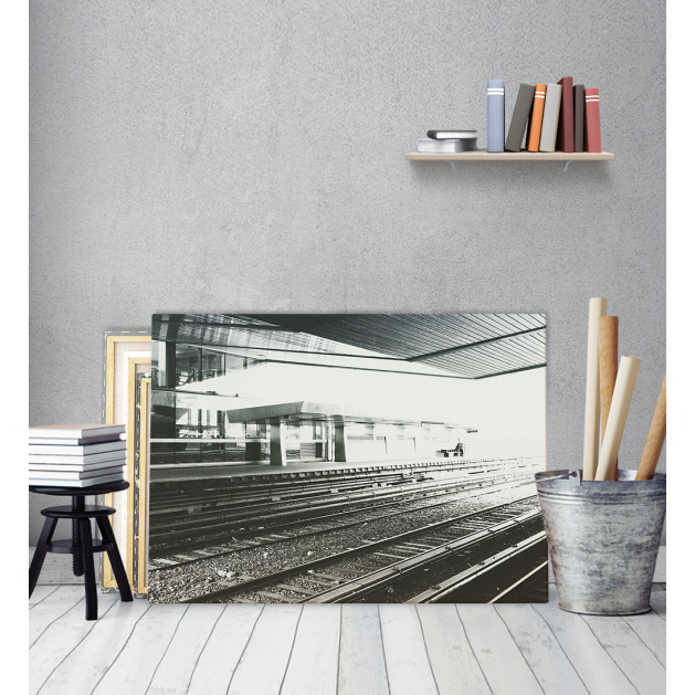 Πίνακας Καμβάς Σιδηρόδρομος