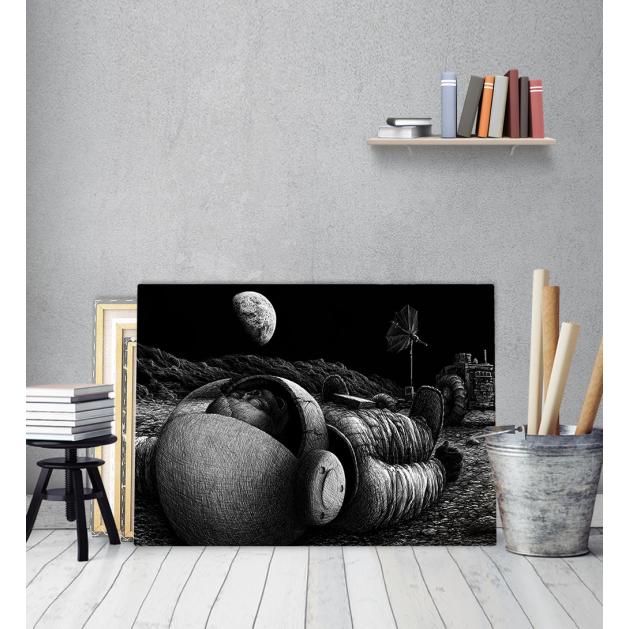 Πίνακας Καμβάς Αστροναύτης