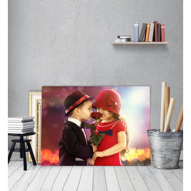 Πίνακας Καμβάς Children Romance