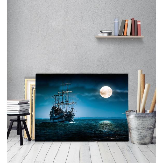 Πίνακας Καμβάς Ξύλινο πλοίο - Wooden vintage Ship