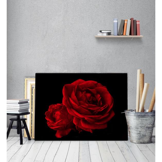 Πίνακας Καμβάς Passion Red Roses