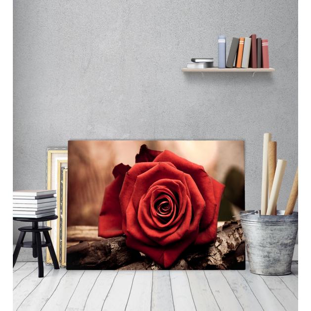 Πίνακας Καμβάς Rose Wood