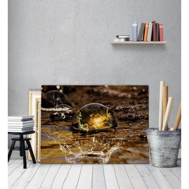 Πίνακας Καμβάς Water Bubble