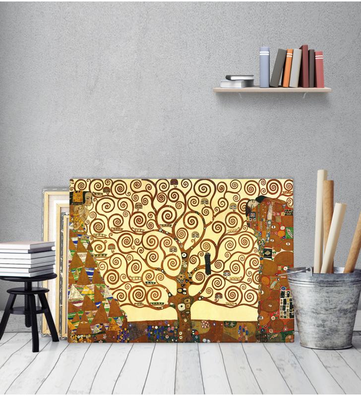 Πίνακας σε καμβά KLIMT - TREE OF LIFE - Δέντρο της ζωής