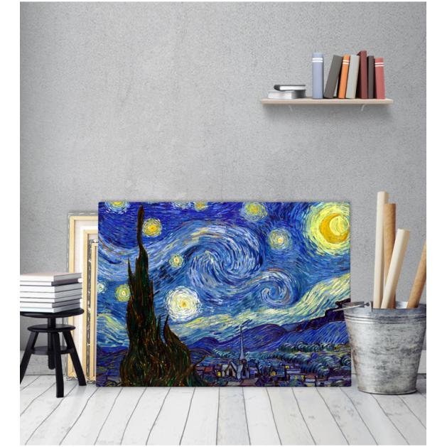 Πίνακας ζωγραφικής σε Καμβά Seascape - Βαν Γκογκ