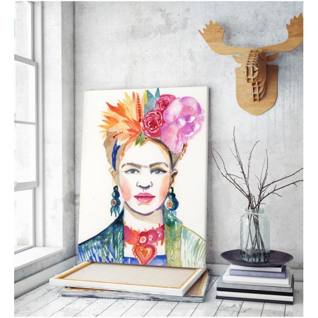 Πίνακας ζωγραφικής σε Καμβά Frida Kahlo