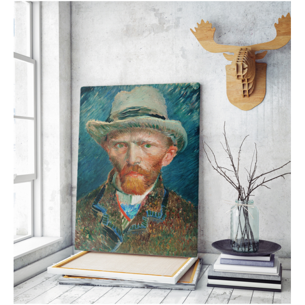 Πίνακας ζωγραφικής σε Καμβά Βαν Γκογκ Αυτοπροσωπογραφία