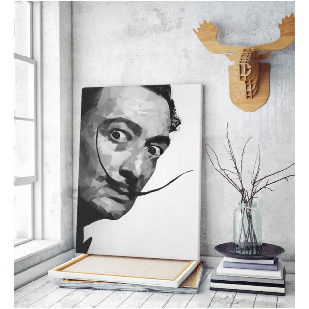 Πίνακας ζωγραφικής σε Καμβά Salvador Dali portrait
