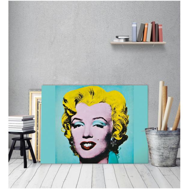 Πίνακας ζωγραφικής σε Καμβά Andy Warhol Merlin Monroe